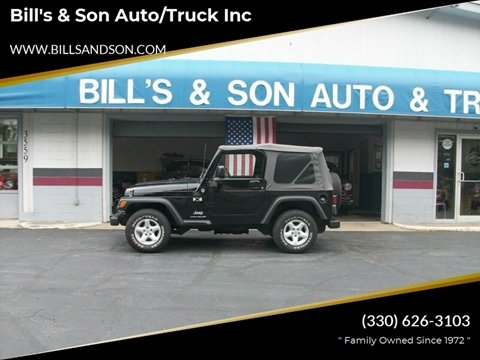 2005 Jeep Wrangler for sale at Bill's & Son Auto/Truck Inc in Ravenna OH