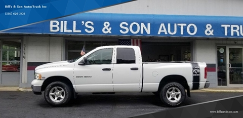 2004 Dodge Ram Pickup 1500 for sale at Bill's & Son Auto/Truck Inc in Ravenna OH