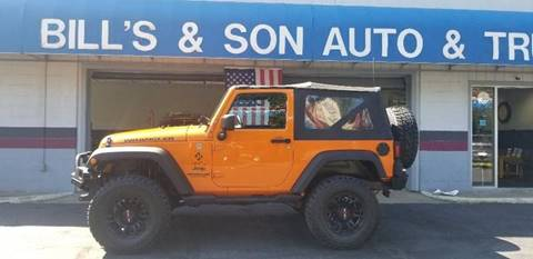 2013 Jeep Wrangler for sale at Bill's & Son Auto/Truck Inc in Ravenna OH