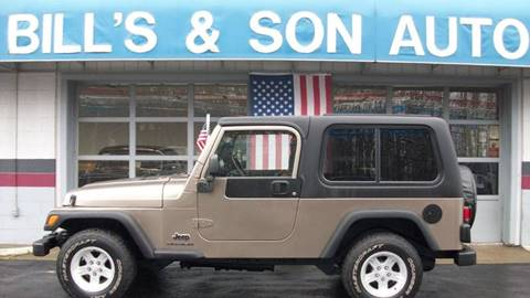 2004 Jeep Wrangler Unlimited for sale at Bill's & Son Auto/Truck Inc in Ravenna OH