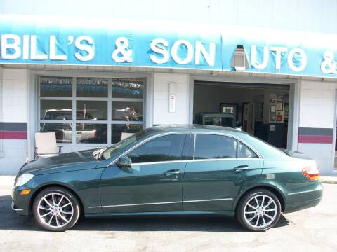 2010 Mercedes-Benz E-Class for sale at Bill's & Son Auto/Truck Inc in Ravenna OH
