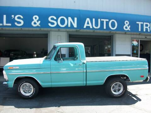 1969 Ford F-100 for sale at Bill's & Son Auto/Truck Inc in Ravenna OH
