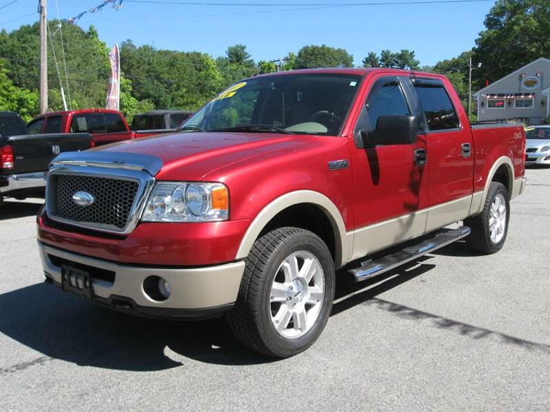 2007 ford f-150 lariat 4dr supercrew 4x4 styleside 5.5 ft. sb in