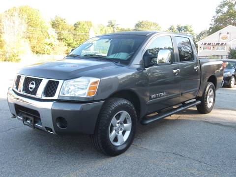 2005 Nissan Titan for sale in Rehoboth, MA