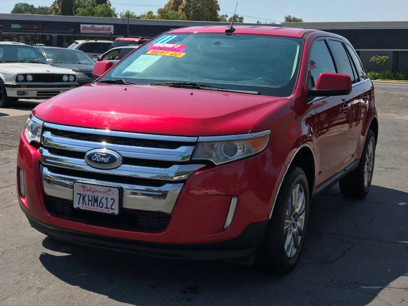 Ford Edge Limited Dr Crossover In Citrus Heights Ca M Motors Rh Mmotorssite Com  Ford Edge Owners Manual  Ford Edge Limited