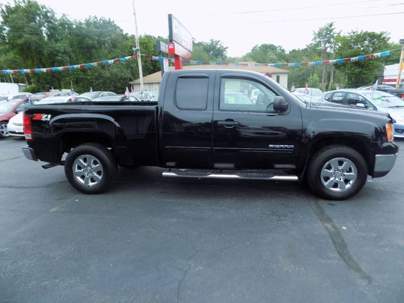 2011 GMC Sierra 1500 4x4 SLE 4dr Extended Cab 6.5 ft. SB - Manchester NH