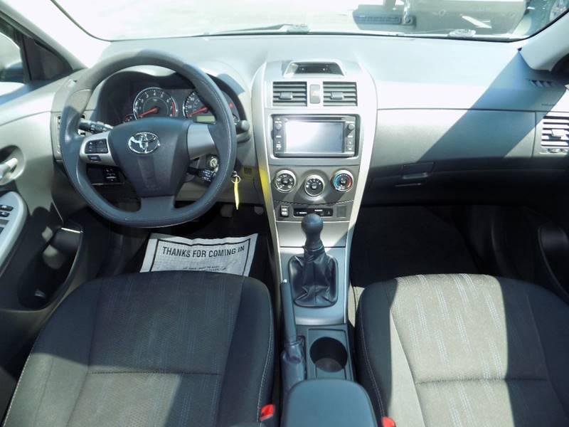2013 Toyota Corolla S 4dr Sedan 5M - Manchester NH