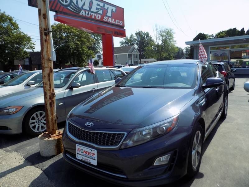 2015 Kia Optima Hybrid 4dr Sedan - Manchester NH