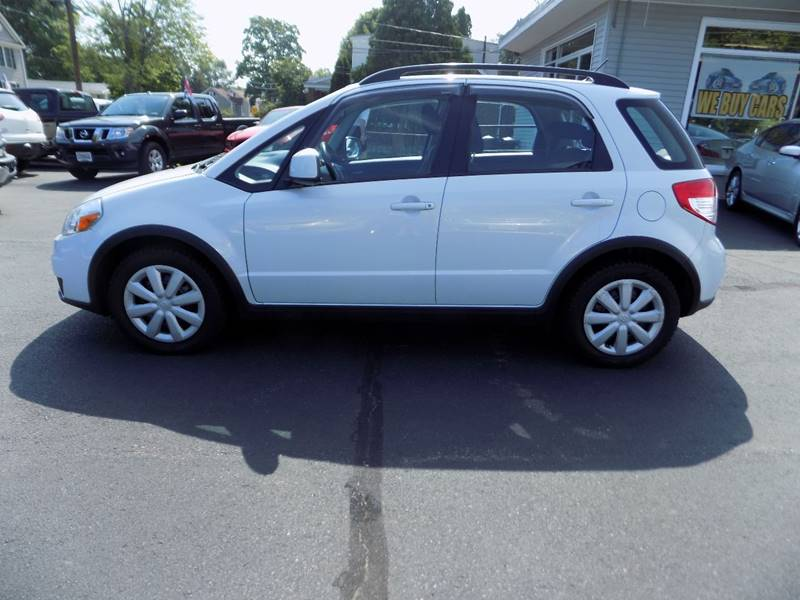 2012 Suzuki SX4 Crossover AWD 4dr Crossover with Technology Value Package CVT - Manchester NH