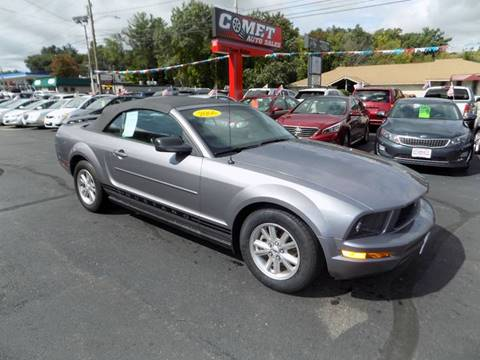 2006 Ford Mustang & Ford Used Cars Pickup Trucks For Sale Manchester Comet Auto Sales markmcfarlin.com