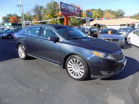2013 Lincoln MKS for sale in Manchester, NH