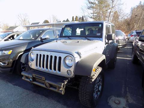 2014 Jeep Wrangler for sale in Manchester, NH