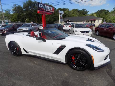 2016 Chevrolet Corvette for sale at Comet Auto Sales in Manchester NH