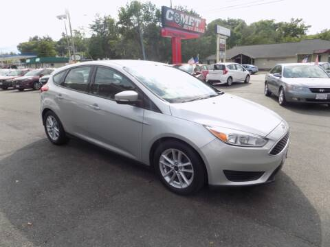 2017 Ford Focus for sale at Comet Auto Sales in Manchester NH