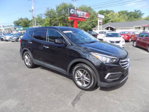 2018 Hyundai Santa Fe Sport for sale at Comet Auto Sales in Manchester NH