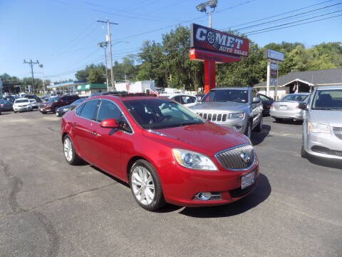 2012 Buick Verano for sale at Comet Auto Sales in Manchester NH