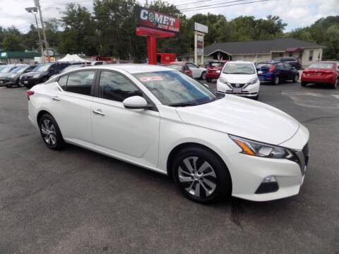 2020 Nissan Altima for sale at Comet Auto Sales in Manchester NH