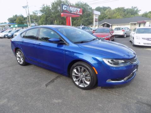 2015 Chrysler 200 for sale at Comet Auto Sales in Manchester NH