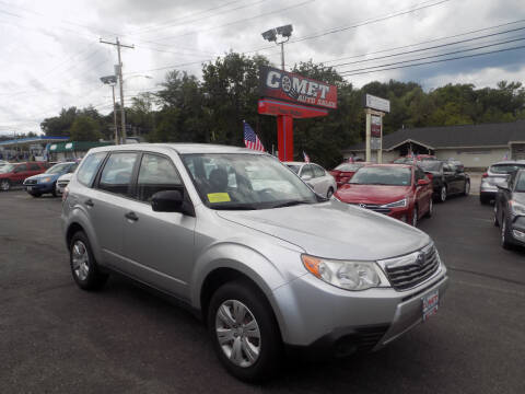2009 Subaru Forester for sale at Comet Auto Sales in Manchester NH