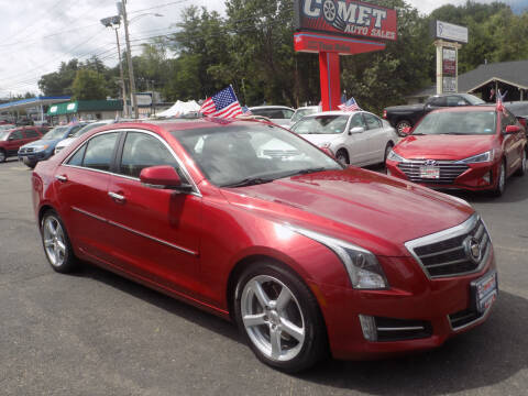 2013 Cadillac ATS for sale at Comet Auto Sales in Manchester NH