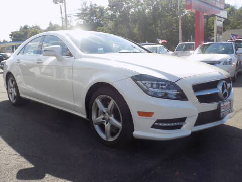 2014 Mercedes-Benz CLS for sale at Comet Auto Sales in Manchester NH