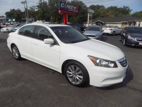 2012 Honda Accord for sale at Comet Auto Sales in Manchester NH