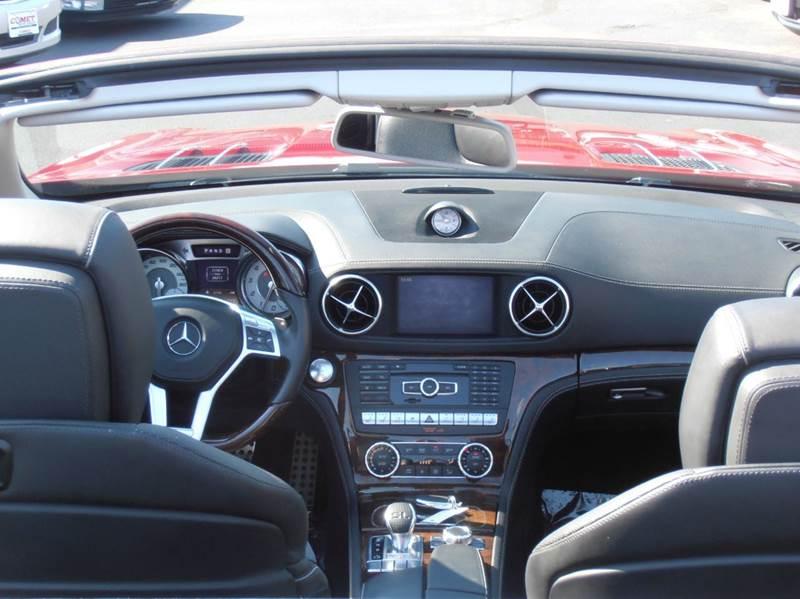 2013 Mercedes-Benz SL-Class SL550 2dr Convertible - Manchester NH