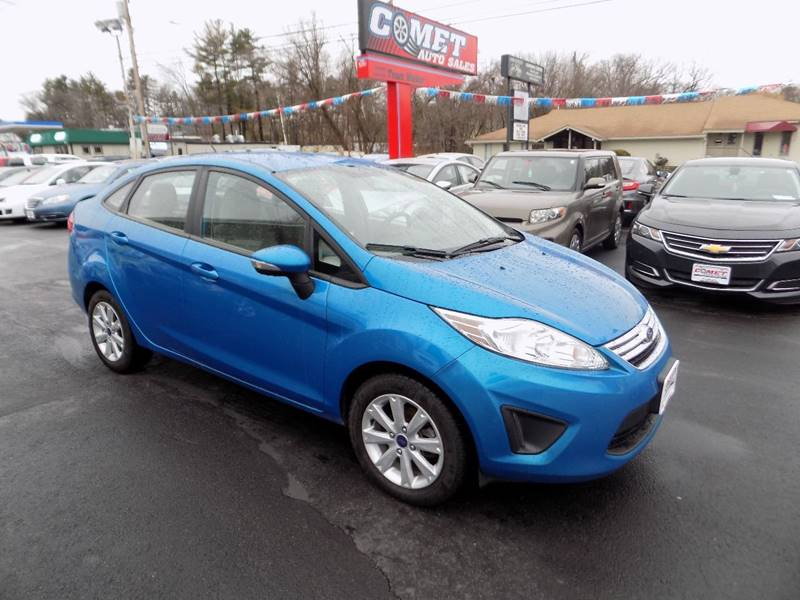 2013 Ford Fiesta SE 4dr Sedan - Manchester NH
