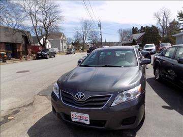 2010 Toyota Camry for sale in Manchester, NH