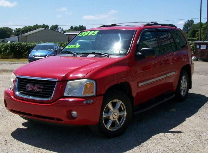 2002 GMC Envoy SLT 4WD 4dr SUV - North East PA