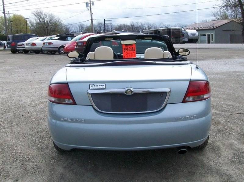 2001 Chrysler Sebring Limited 2dr Convertible - North East PA
