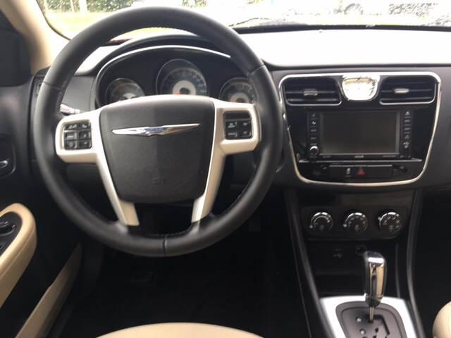 2013 Chrysler 200 Touring 4dr Sedan - Mechanicville NY