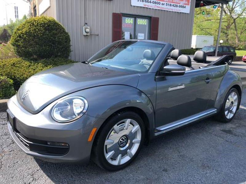 2013 Volkswagen Beetle for sale at Mehan's Auto Center in Mechanicville NY