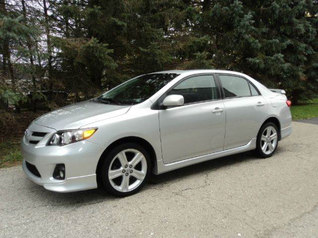 2013 Toyota Corolla for sale at HUSHER CAR COMPANY in Caledonia WI