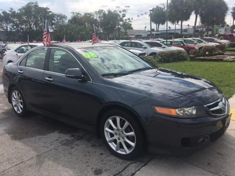2008 Acura TSX for sale in North Lauderdale, FL