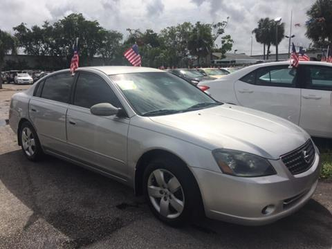 2005 Nissan Altima for sale in North Lauderdale, FL