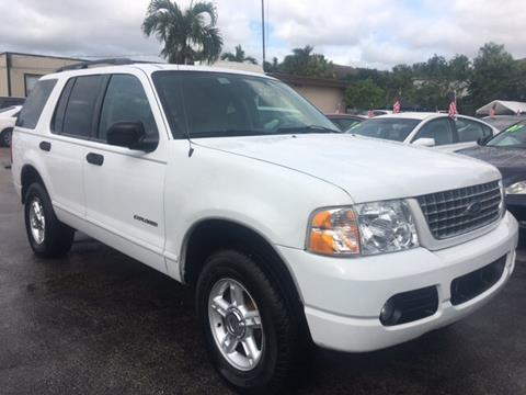 2004 Ford Explorer for sale in North Lauderdale, FL