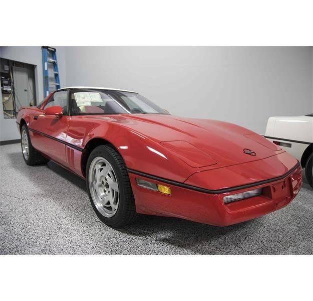 1990 Red Chevrolet Corvette ZR1  | C4 Corvette Photo 1