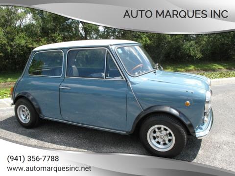 1974 INNOCENTI MINI COOPER 1300 for sale at Auto Marques Inc in Sarasota FL