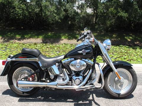 2006 Harley-Davidson FATBOY SOFTAIL FLSTFI for sale in Sarasota, FL