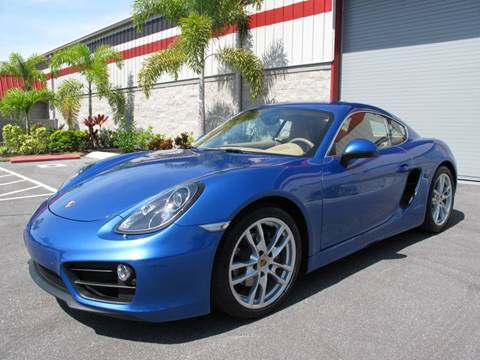 2015 Porsche Cayman for sale in Sarasota, FL