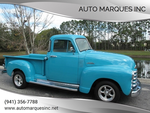 1953 Chevrolet 3100 for sale at Auto Marques Inc in Sarasota FL