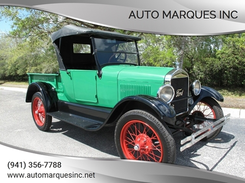 1926 Ford Model T for sale at Auto Marques Inc in Sarasota FL