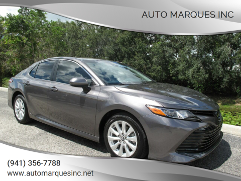 2018 Toyota Camry for sale at Auto Marques Inc in Sarasota FL