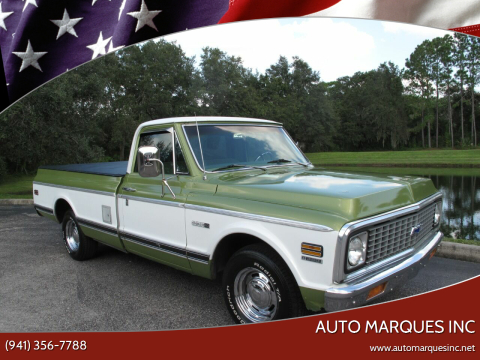 1972 Chevrolet C/K 10 Series for sale at Auto Marques Inc in Sarasota FL