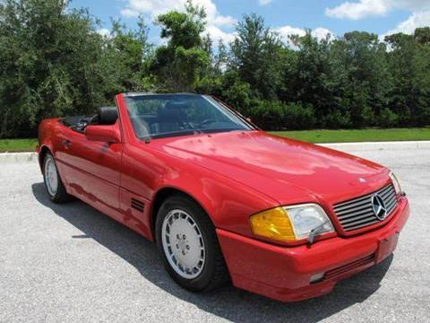 1990 Mercedes-Benz SL-Class for sale at Auto Marques Inc in Sarasota FL