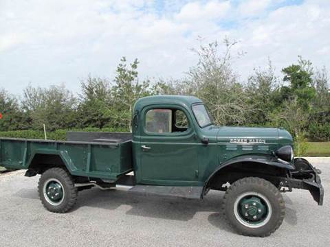 1954 Dodge POWERWAGON for sale at Auto Marques Inc in Sarasota FL