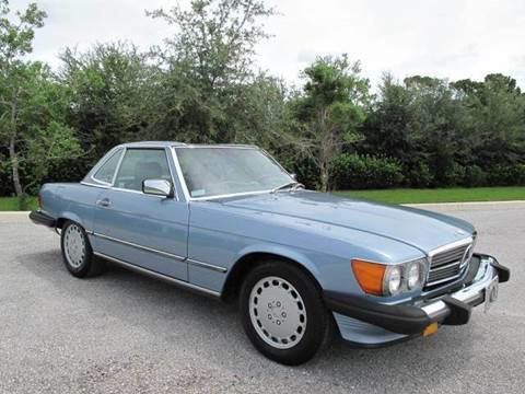 1988 Mercedes-Benz 560-Class for sale at Auto Marques Inc in Sarasota FL