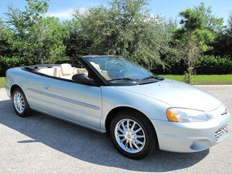 2002 Chrysler Sebring for sale at Auto Marques Inc in Sarasota FL