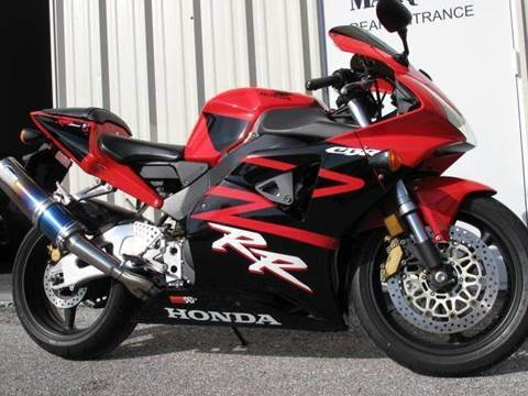 2002 Honda CBR 954 RR for sale at Auto Marques Inc in Sarasota FL